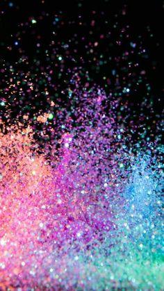 Phone wallpaper Pop Rocks space glitter