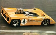 The number 4 M8A of Bruce McLaren