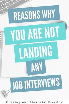 Reasons Why You're Not Landing Job Interviews Job Interview Preparation, Job Interview Tips, Job Interviews, Behavioral Interview Questions, Interview Questions And Answers, Career Quotes, Career Advice, Job Hunting Tips, Resume Tips