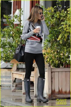 alessandra ambrosio back in la after fashion show 06 Alessandra Ambrosio goes shopping in rain boots on Friday afternoon (December 12) in Brentwood, Calif.     The day before, the 33-year-old Victoria's Secret model…