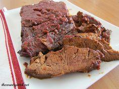 Crock Pot BBQ Beef Brisket