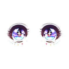 Cute Kawaii Drawings, Anime Girl Drawings, Art Drawings Sketches, Crear Avatar Anime, Poses Manga, Cute Eyes Drawing, Chibi Eyes, How To Draw Anime Eyes, Pelo Anime