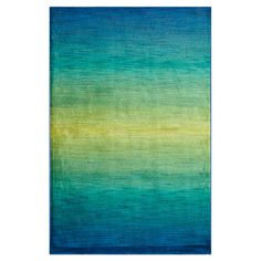 The Conestoga Trading Co. Blue/Teal Area Rug & Reviews | Wayfair