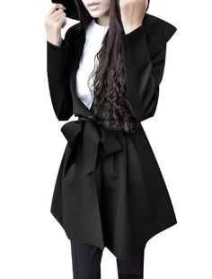 Antje Lady Flounce Collar Long Sleeve Ruched Detail Waist Tie Trench Coat Jacket Antje,http://www.amazon.com/dp/B00D0U6DM6/ref=cm_sw_r_pi_dp_EmYesb1TBZPZTNSV