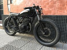 Browse just a few of my most desired builds - modified scrambler ideas like this Nkd Cafe Racer, Cafe Racer Seat, Cafe Racer Bikes, Cafe Racer Motorcycle, Motorcycle Design, Bike Design, Vintage Motorcycles, Custom Motorcycles, Custom Bikes