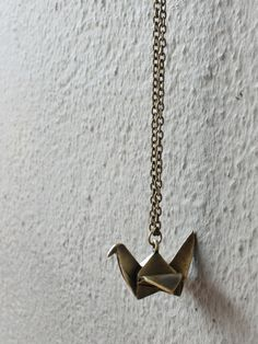 origami necklace | RedInFred