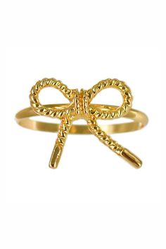 Embrace everyday jewelry with our fun and dainty rings! These delicate styles can be worn as midi-rings stackable rings or layer them up and fan them out. Plated in 18k gold silver or rose gold.  Cute Bow Ring by Winky Designs. Accessories - Jewelry - Rings Las Vegas