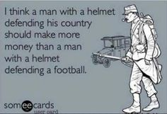 soldiers deserve more money than football players