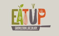 Eat Up Magazine / Logo / Branding / Identity / On the board of Limoncello Studio http://www.limoncello-studio.com/