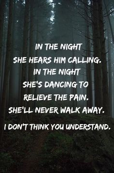 In the Night The Weeknd lyrics