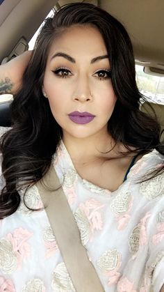 #TheBeautyBoard Makeup of the Day: Eggplant by thedamnbird. Upload your look to gallery.sephora.com for the chance to be featured! #Sephora #MOTD