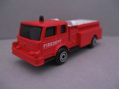 Maisto Denver Pumper Diecast Toy Fire Dept Fire Truck #Maisto