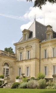 Chateaux Fontplegade, Bordeaux, France - This beautifully designed chateau is owned by an American wine-making family. The wines were outstanding, as was their grape jelly!