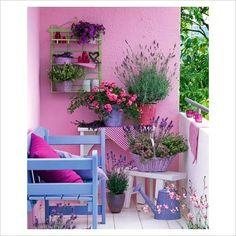 Balcon colorido