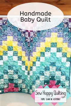 If you need a one of a kind baby shower gift, then check out Sew Happy Quilting VT on Etsy. These quilts are heirloom quality and are washable. Check out the amazing and unique quilts available. These are great for the nursery, as a baby play mat on the floor, a stroller quilt and more! #babyshower #babyshowergift #nurserydecor #babyroom #babygirlgift #handmadequilt #homemadequilt #quiltsforsale #uniquebabygift #heirloomgift #oneofakind #babyquilt #babyblanket Baby Girl Presents, Presents For Girls, Baby Room Decor, Nursery Decor, Homemade Quilts, Handmade Baby Quilts, Selling Handmade Items, Batik Quilts, Modern Quilt Patterns
