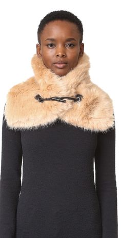 Carven Faux Fur Scarf | SHOPBOP