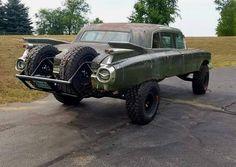 rat rod #trucks pictures Rat Rod Trucks, Rat Rods, Rat Rod Cars, Rc Trucks, Dodge Trucks, Lifted Cars, Weird Cars, Sweet Cars, Old Cars