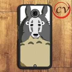 Totoro Mask Spirited Away Nexus 5,Nexus 6,Nexus 7 Case