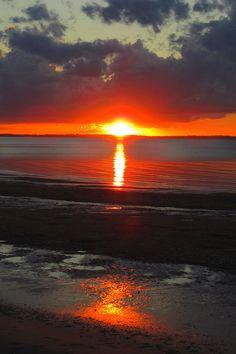 ✭ Blazing Sunset - Fraser Island, Australia