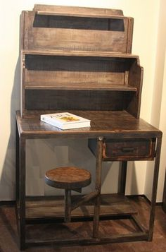 this is an awesome addition to any office space or man cave desk hardware