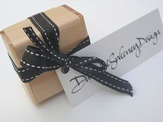 #Easy gift giving! Each jewellery item comes beautifully wrapped and packaged in a sustainably harvested timber box with a hand calligraphed note. Easy!