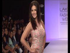 Sunny Leone @ Lakhme Fashion Week 2014.