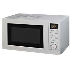White Digital Microwave | Dunelm Mill