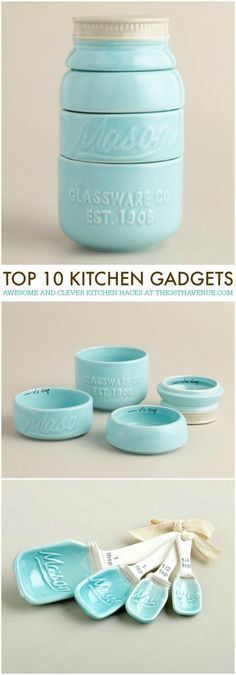 Kitchen Gadgets - 10 CLEVER Gadgets that will make your life easier! See them all at http://the36thavenue.com #kitchen
