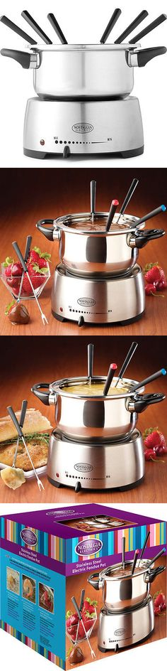 Other Small Kitchen Appliances 20685: Stainless Steel Fondue Maker Melting Dip Pot - Chocolate Cheese Electric Cooker -> BUY IT NOW ONLY: $58.95 on eBay!