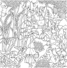 Bird Coloring Pages, Adult Coloring Book Pages, Fairy Coloring, Coloring Sheets, Coloring Books, Free Printable Art, Fairy Land, Digi Stamps, Doodle Art