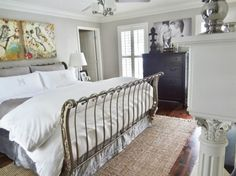 off+white+bedroom | Calming Off White/Grey Master Bedroom, This bedroom is gray, white ...
