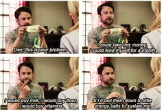 charlie online dating always sunny The gang starts playing an online video game and charlie becomes obsessed charlie rules the world 10 things you didn't know about it's always sunny in.