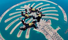 Skydiving Adventures in Dubai #Dubai #stepbystep