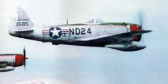 P-47D-30-RA, s/n 44-33585 of 527th FS, 86th FW, winter 1947/1948