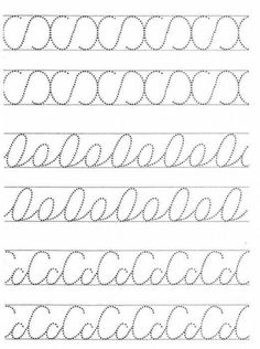 #punteado Teaching Cursive Writing, Cursive Writing Worksheets, Preschool Writing, Preschool Learning Activities, Preschool Worksheets, Writing Skills, Boy Diy Crafts, Guided Reading Organization, Maternelle Grande Section