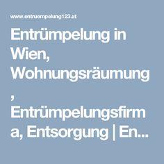 Entrümpelung in Wien, Wohnungsräumung, Entrümpelungsfirma, Entsorgung   Entruempelung123.at Weather, Weather Crafts