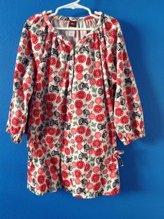TEA COLLECTION Lucky Butterfly Corduroy Top Size 10 $39 #TeaCollection