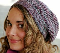 Knit Powers to Peace: Knitting Patterns Free for Beginners. Brown and blue yarn? Stripes?