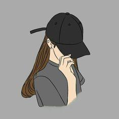 wallpaper girl BadassGirlsQuotes Wallpapers for Girls, GirlyWallpapers Cartoon Girl Images, Cute Cartoon Girl, Cool Anime Girl, Cartoon Art Styles, Anime Art Girl, Anime Guys, Beautiful Girl Drawing, Cute Girl Drawing, Cartoon Girl Drawing