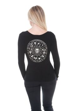 Astrology Psychobilly Cardigan | RK Edge, Home of Psychobilly Fashion Clothing