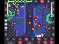 Turbo Man from Mega Man 7, defeated by ArekTheAbsolute. Reflect the Noise Crush at the wall, absorb it, then release the amplified shot at Turbo Man.