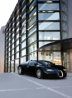 Bugatti Veyron...saw one at the hotel I'm at -- as close as I'll ever get to driving it.
