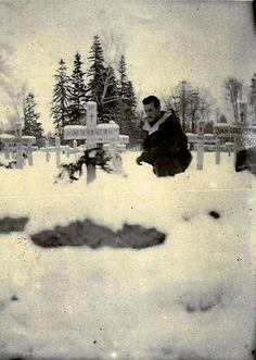 Cementerio militar de Slutz, Diciembre de 1942.