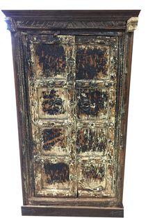 Antique Indian Doors Reclaimed Teak Doors Frame by MOGULGALLERY