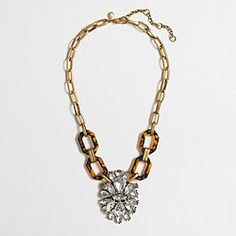 Factory tortoise crystal pendant necklace