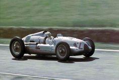 1939 GP Francji (Reims)  Auto Union D (Herrmann Muller)