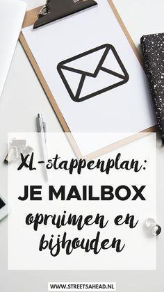 E-mail is enorm handig en onmisbaar, maar het kan ook een enorm drama worden als je de boel niet goed bijhoudt. In dit mega uitgebreide stappenplan help ik je je mailbox opruimen (en opgeruimd houden), en ik geef je tips om voortaan op een snelle en makkelijke manier je mail bij te houden. Are you ready?! Klik snel verder!