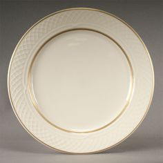 Homer Laughlin Westminster Gothic 9 Plate - Off White 24 / CS Homer Laughlin, China Plates, Ceramic Plates, Fine China, Westminster, Dinner Plates, Tablescapes, Off White, Gothic