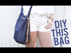 How to Sew a Leather Drawstring Bucket Bag - Free Video Tutorial | PatternPile.com
