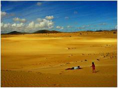 Fuerteventura, sabbia, mare, dune